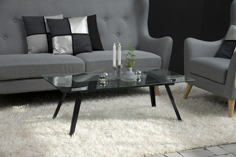Sango Sofabord - Glas - Sofabord i glas