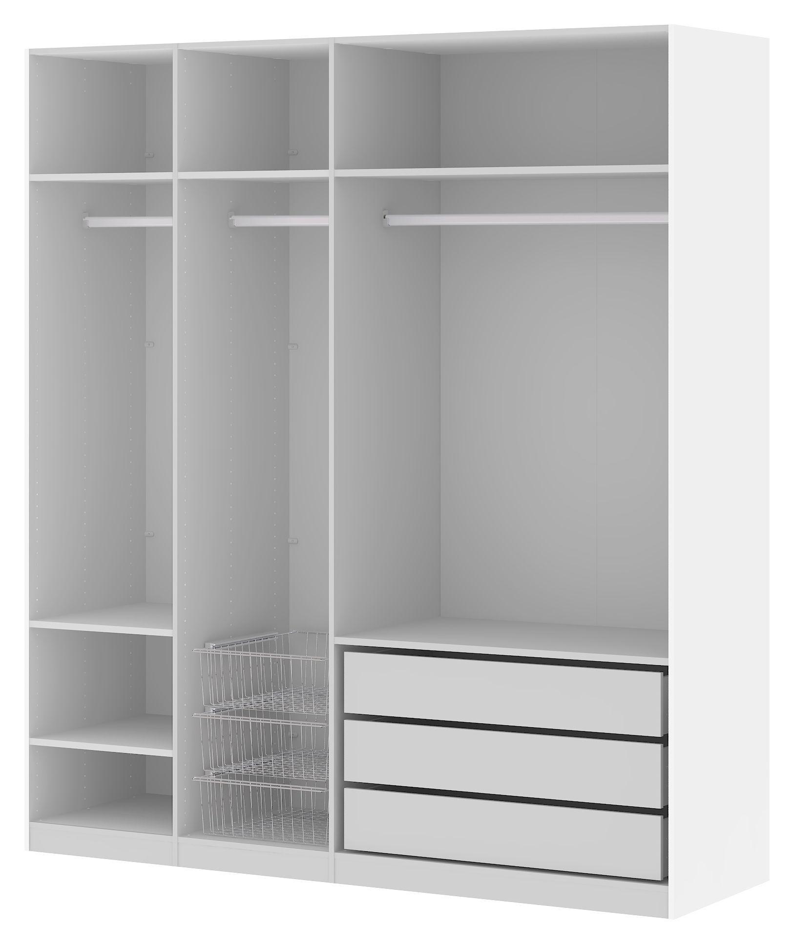 Save Ekstrahylder 2 stk. - Grå 100cm - 2 stk. sølvgrå hylder - 100 cm