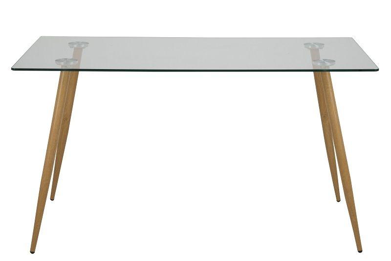 Selma Spisebord - Glas - Spisebord med glasbordplade