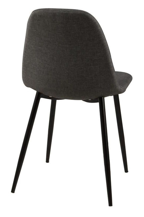 Selma Spisebordsstol - Grå - Spisebordsstol i grå