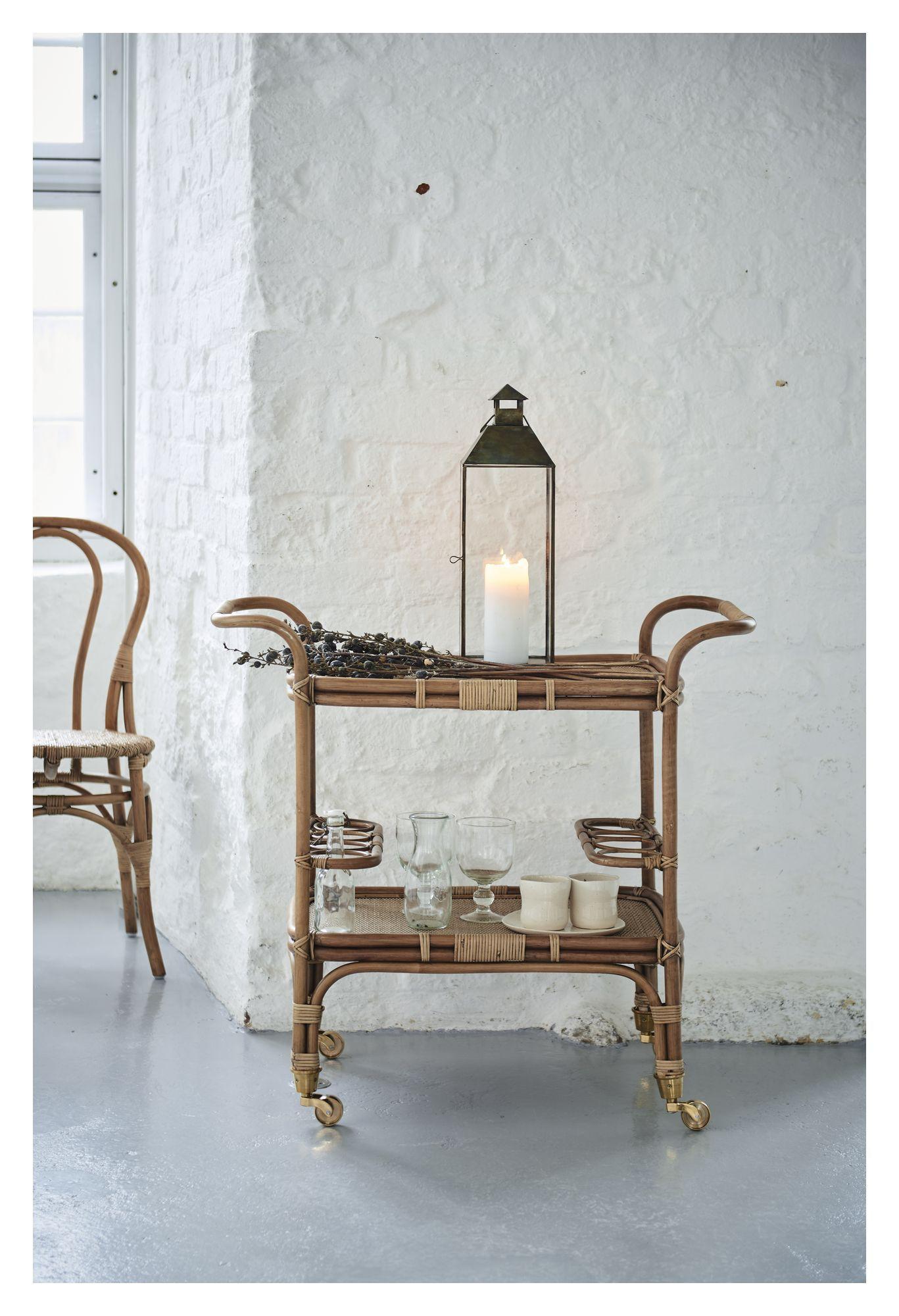 Sika-Design Carlo Barbord m/hjul - Antique - Originals by Sika