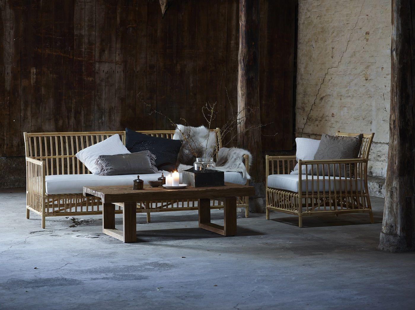 Sika-Design Caroline 3-pers. Sofa - Skin on natural - Originals by Sika