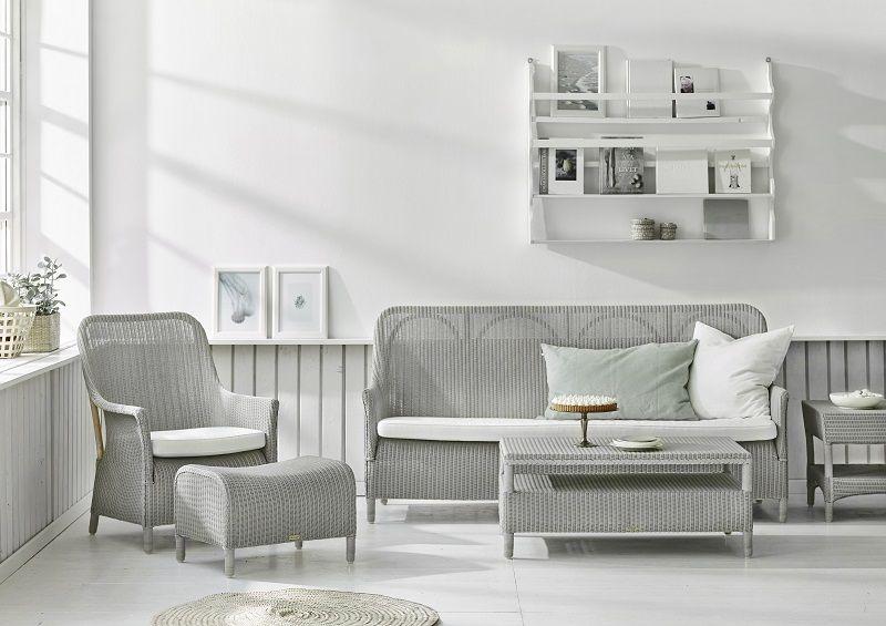 Sika-Design Dawn Loungesofa - Lys grå - Loom Living by Sika