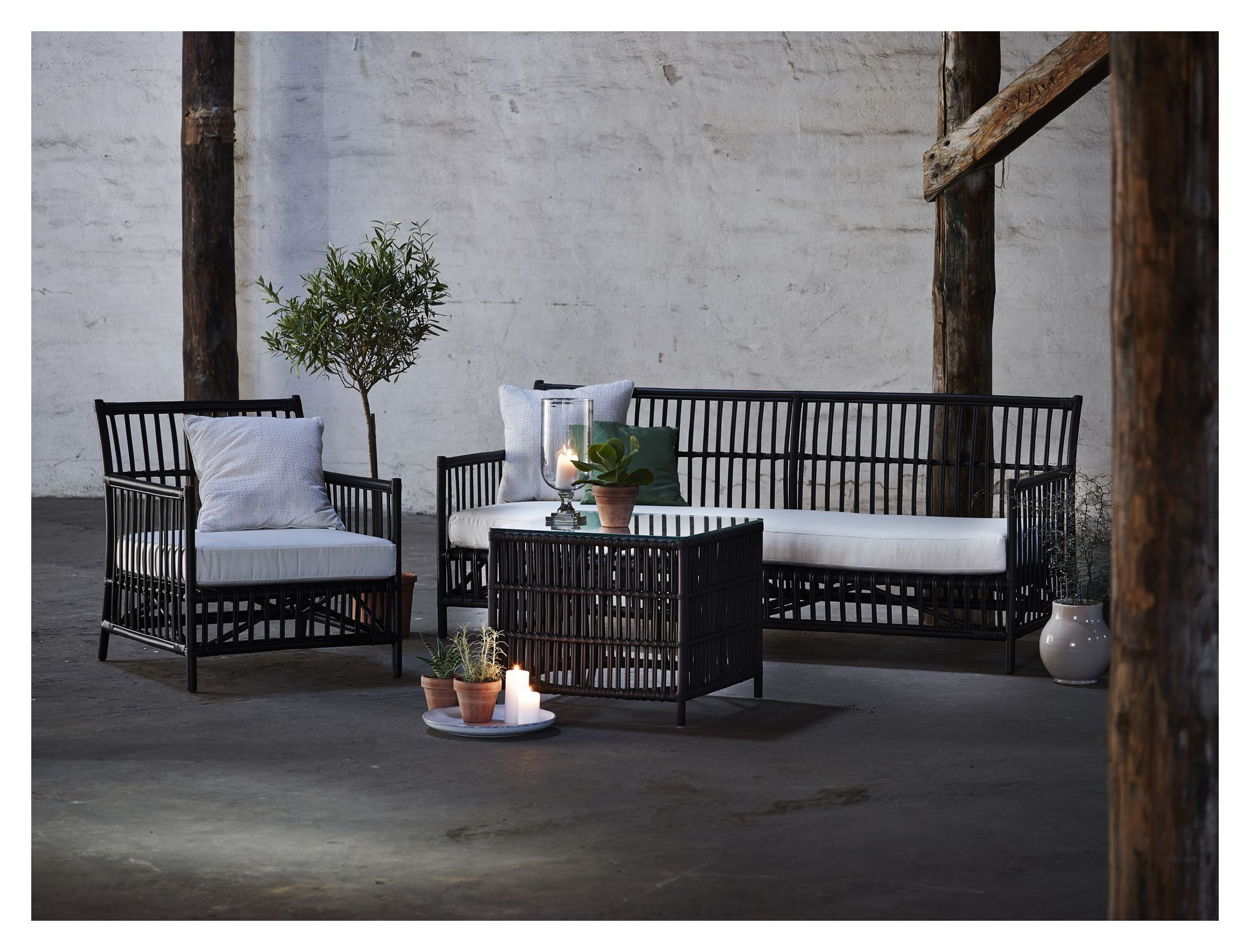 Sika-Design Donatello Loungebord - Mat sort
