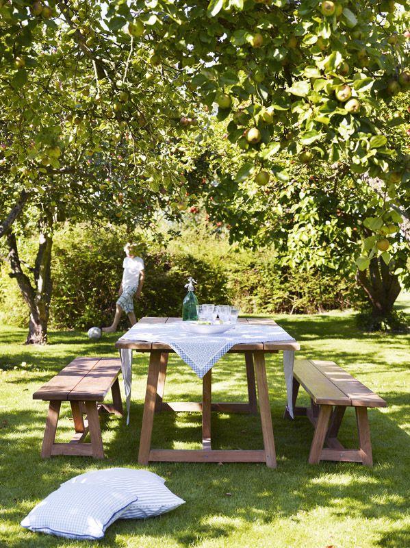Sika-Design - George Havebord - George havebord i teaktræ