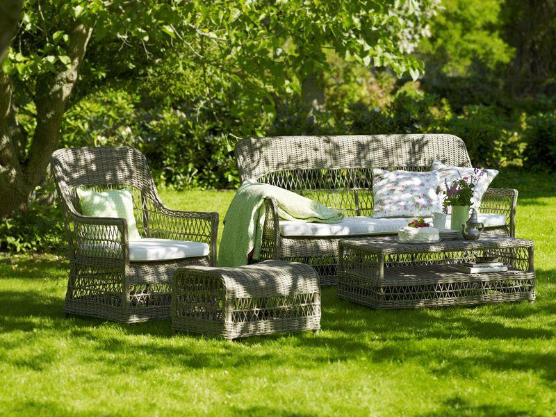Sika-Design Hazel Loungebord - Grå - Georgia Garden