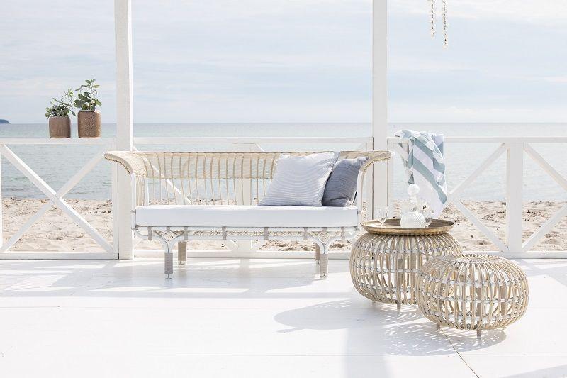 ICONS Belladonna Loungesofa - Dove White - Design - Franco Albini