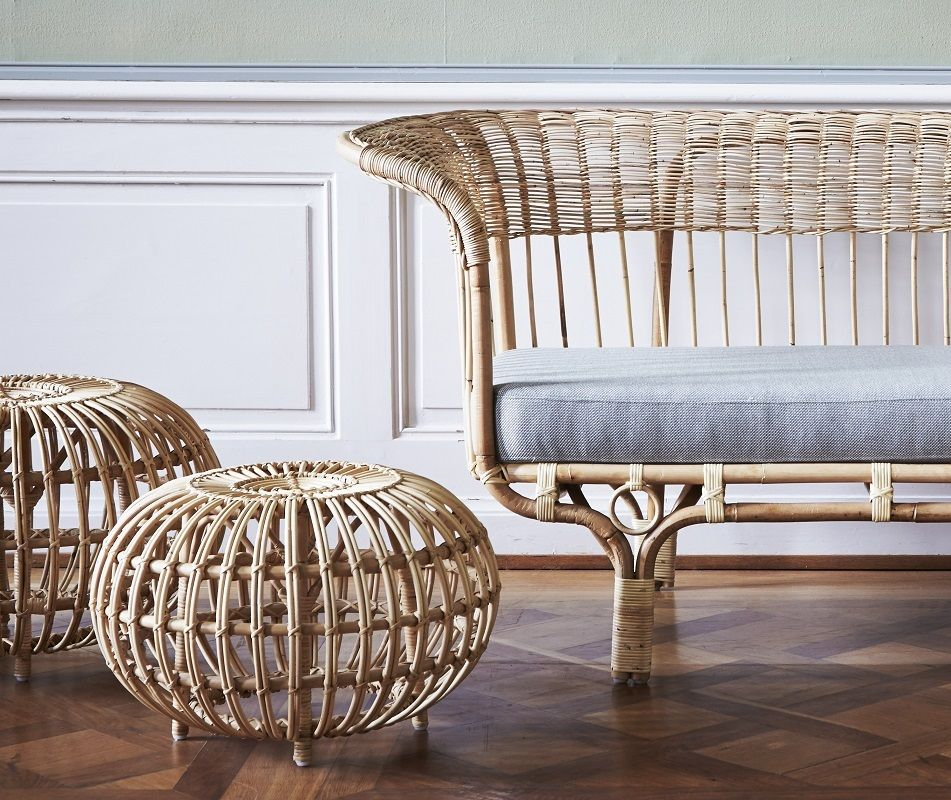 ICONS Belladonna Sofa - Skin-on natural