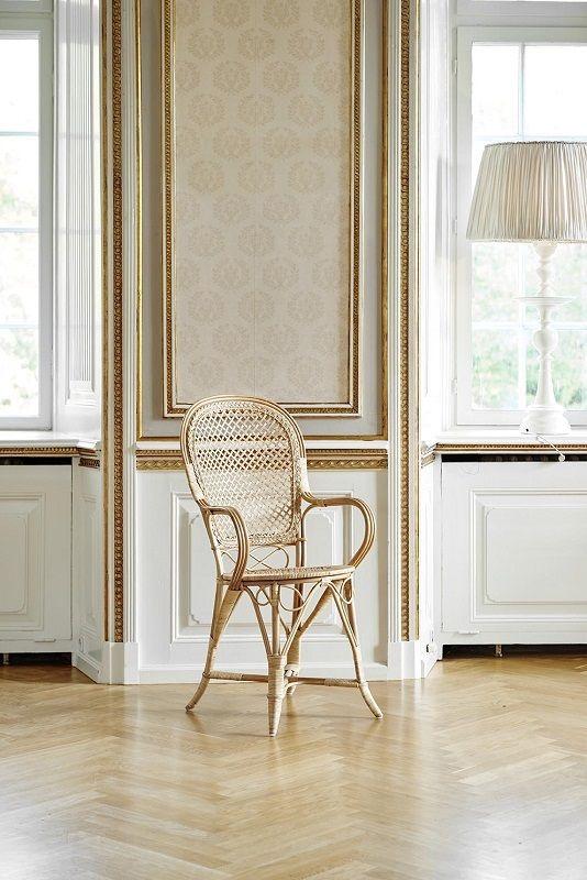 ICONS Fleur Spisebordsstol - Polished natur - Design - Robert Wengler