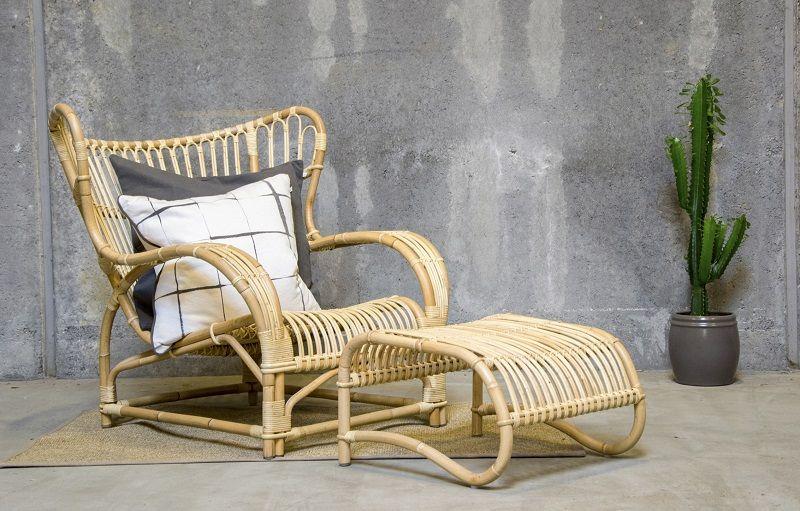 ICONS Teddy Loungestol - Skin-on natural - Design - Viggo Boesen