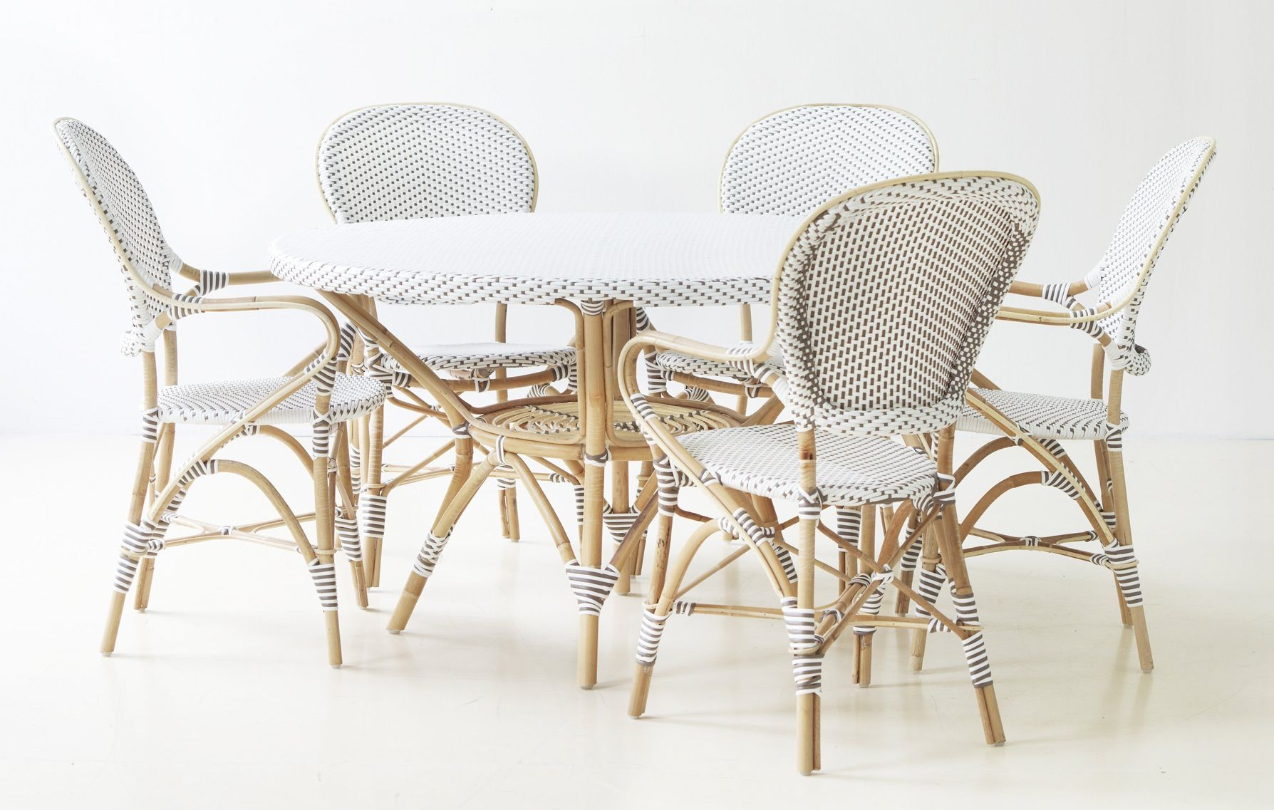 Sika-Design Isabell Cafestol - Hvid m. Armlæn - Affäire