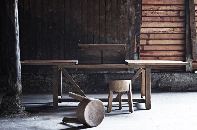 Sika-Design Lucas Teak Spisebord m. Udtræk 200x100 - Classic by Sika