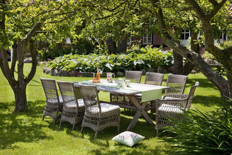 Sika-Design Marie Havestol - Grå m. Hynde - Georgia Garden