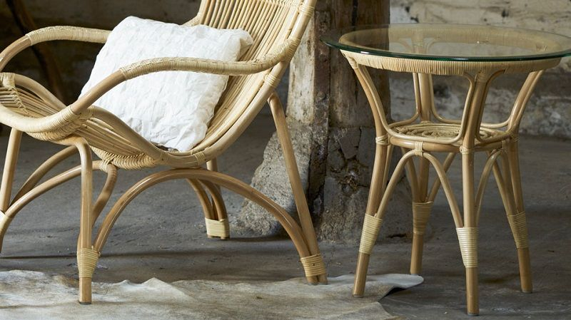 Sika-Design Monet Kurvestol - Lys Rattan - Originals by Sika