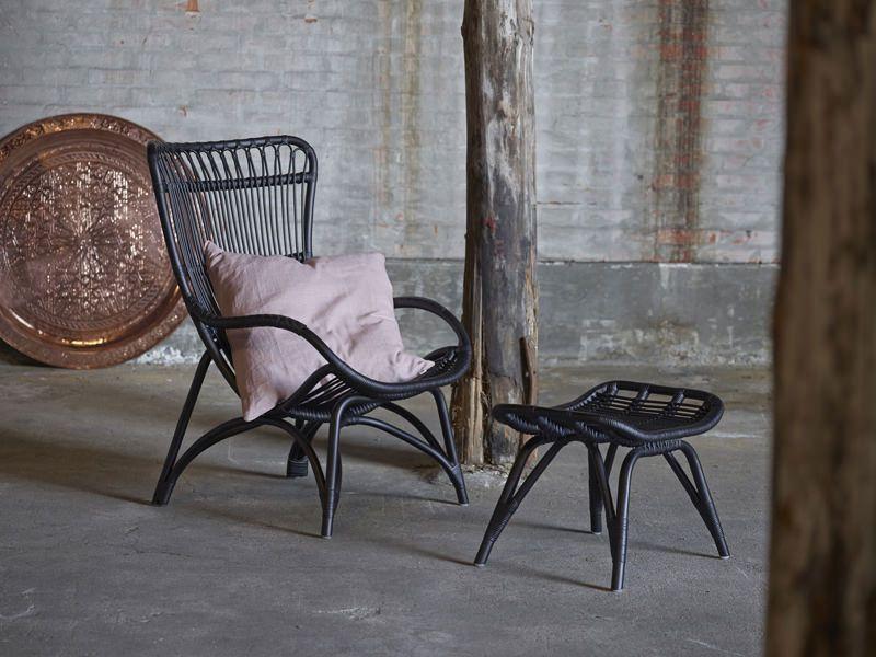 Sika-Design Monet Kurvestol - Sort - Originals by Sika
