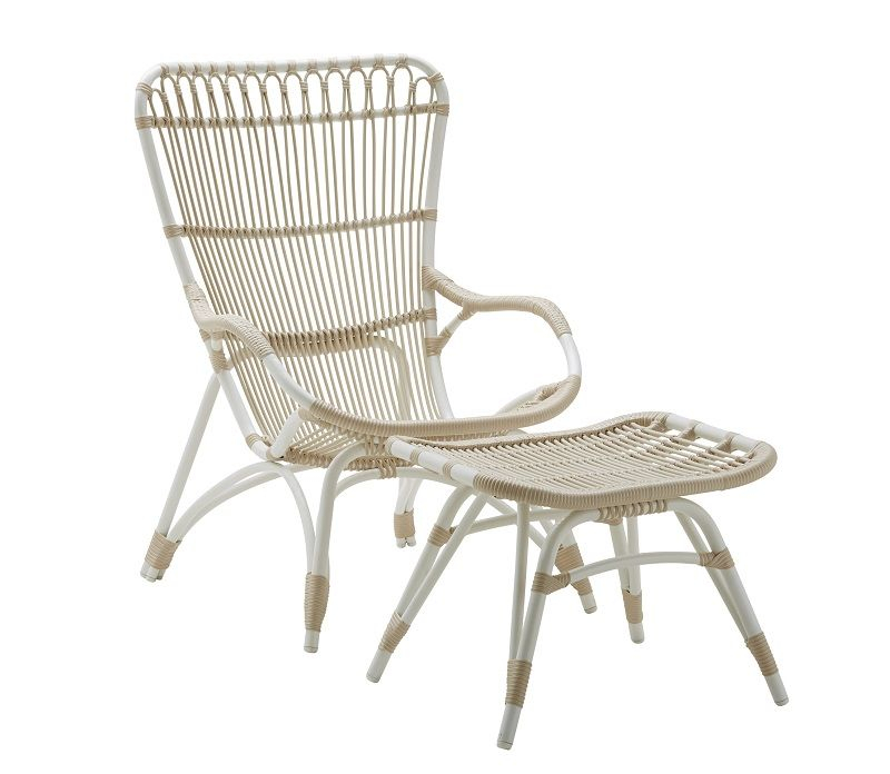 Sika-Design Monet Loungestol - Dove White - Originals by Sika