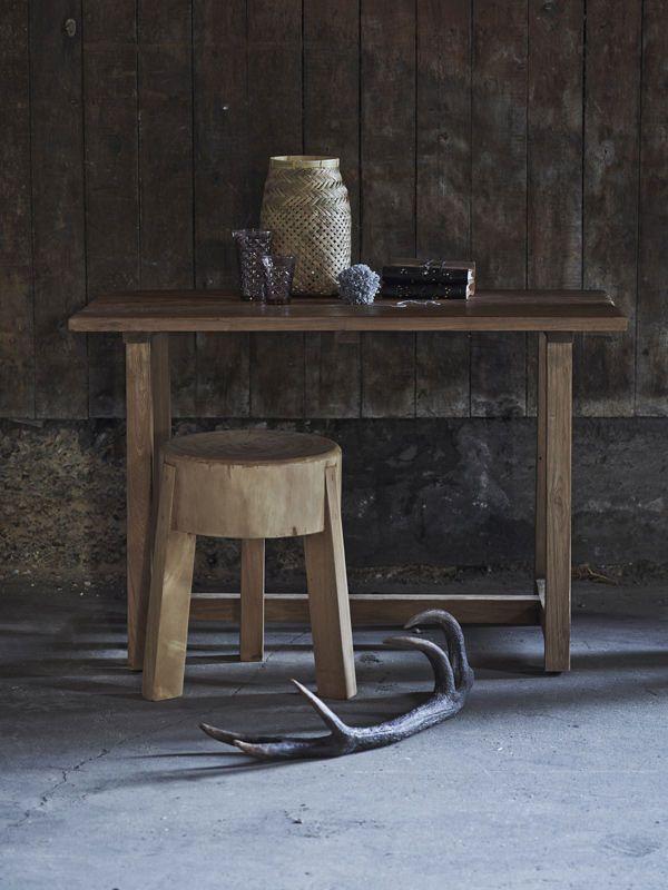 Sika-Design - Roger Skammel - Skammel i træ