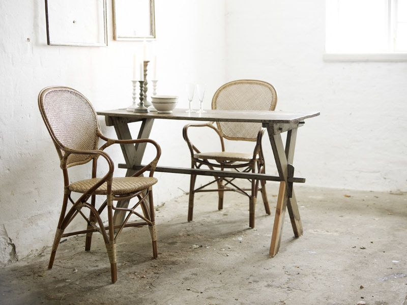 Sika-Design Rossini Spisebordsstol - Antik Rattan - Originals by Sika