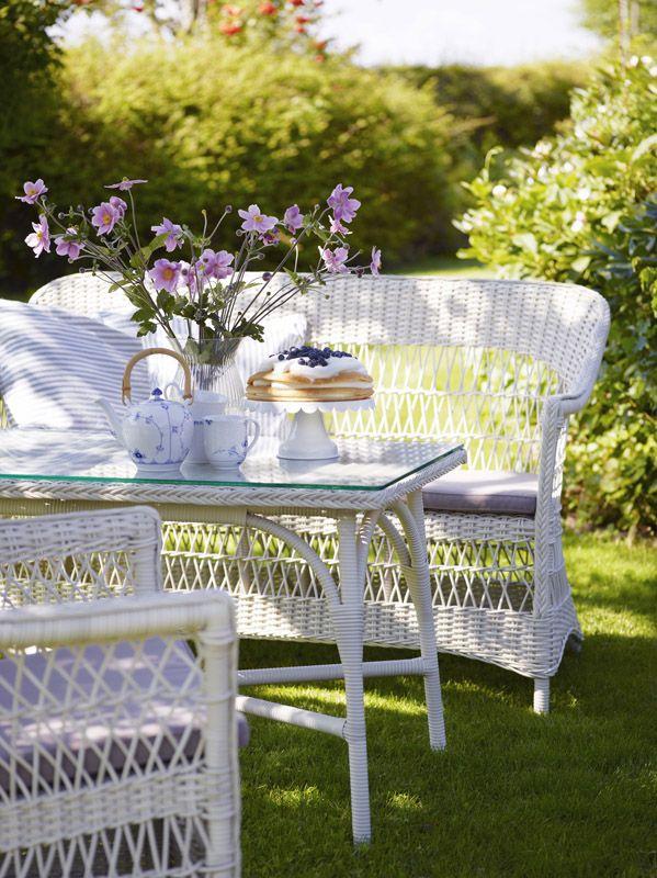 Sika-Design - Victoria Loungebord - Hvid - Victoria loungebord