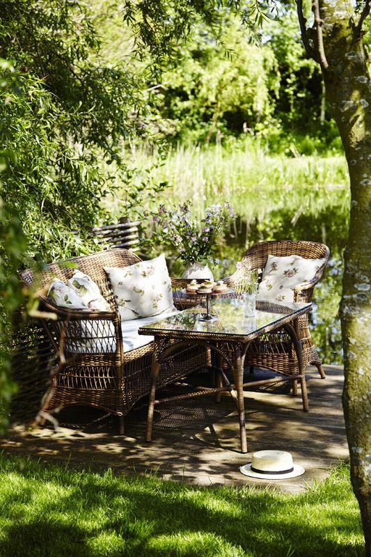 Sika-Design Victoria Sofabord - Chestnut - Georgia Garden