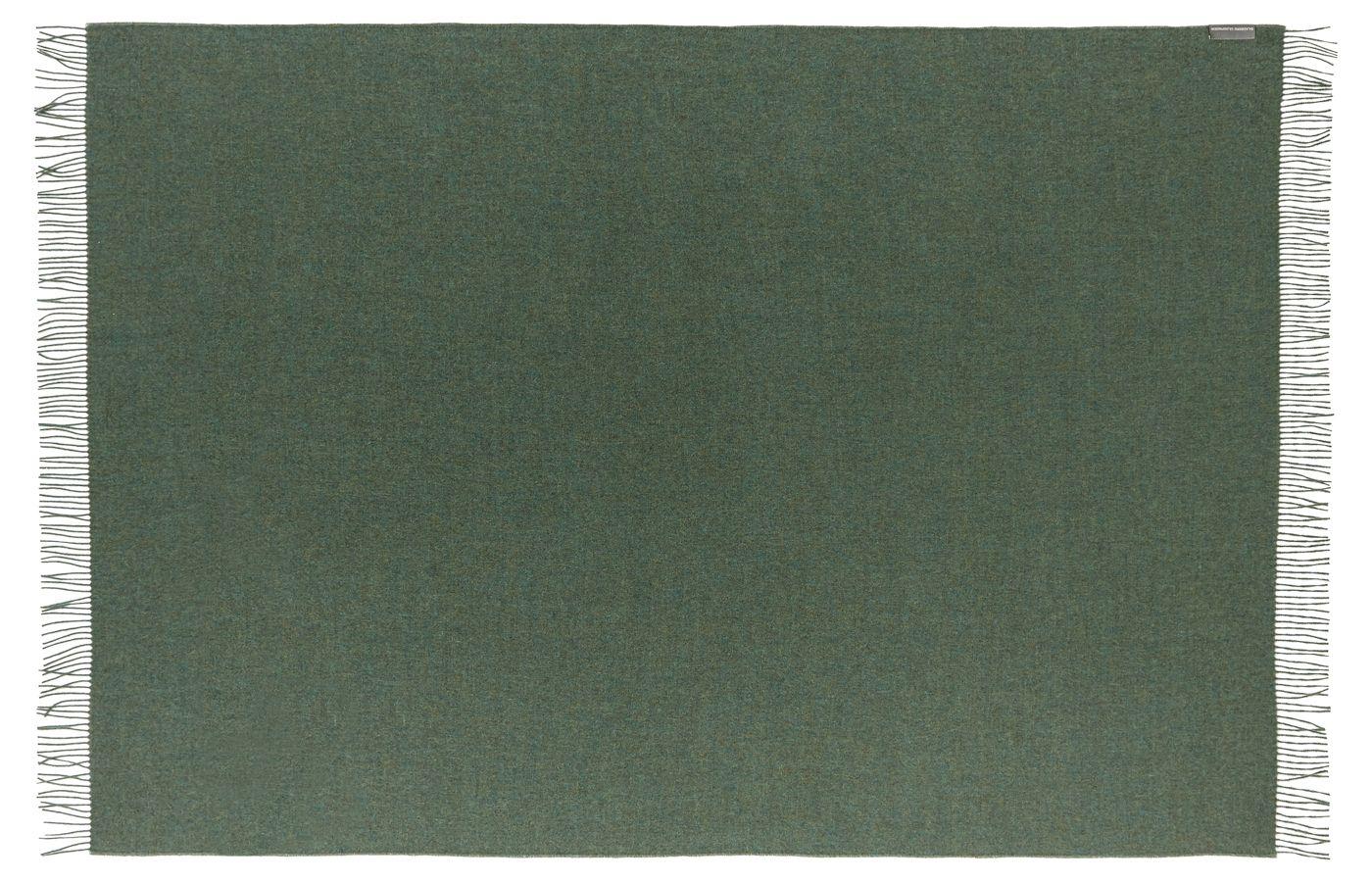 Cusco Plaid, Baby Alpaca, Green, 200x130 - Silkeborg Uldspinderi