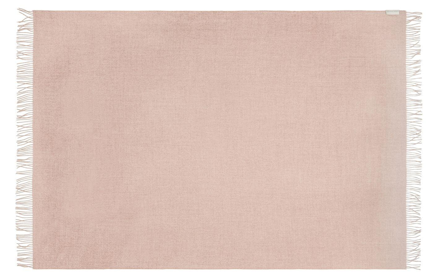 Cusco Plaid, Baby Alpaca, Rose, 200x130 - Silkeborg Uldspinderi