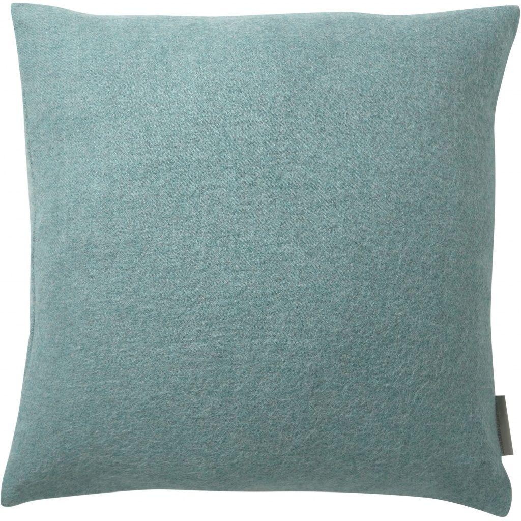 Cusco Pude, Baby Alpaca, Ocean Blue, 60x60 - Silkeborg Uldspinderi