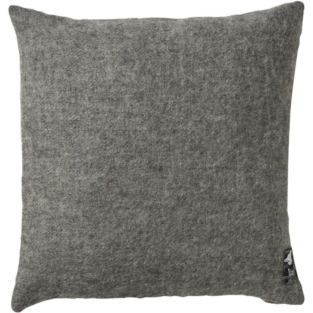 Gotland Pude, Uld, Nordic Grey, 40x40 - Silkeborg Uldspinderi