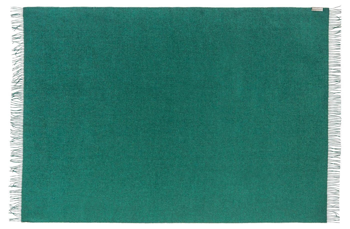 Lima Plaid, Grøn Baby Alpaca, 200x130 - Silkeborg Uldspinderi
