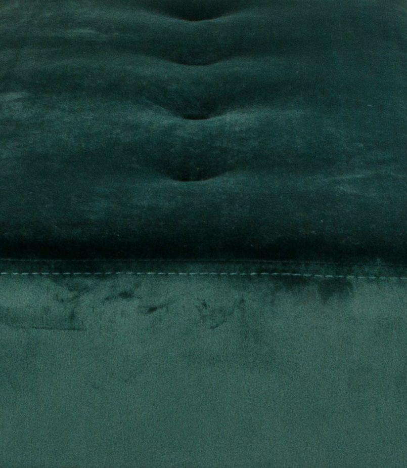 Skiby Bænk m. velour - Mørkegrøn
