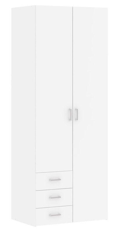 Space Garderobeskab - Hvidt garderobeskab