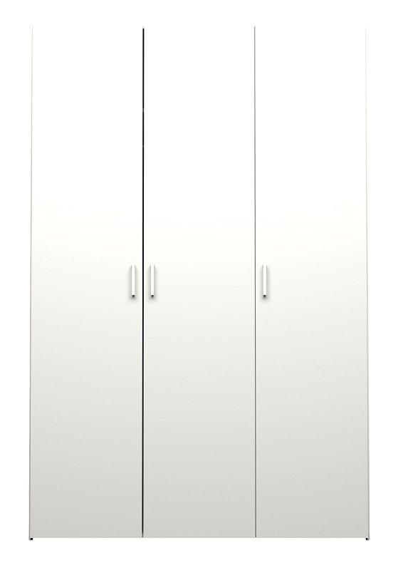 Space Garderobeskab - 3 låger - Hvid - Hvidt garderobeskab med tre låger
