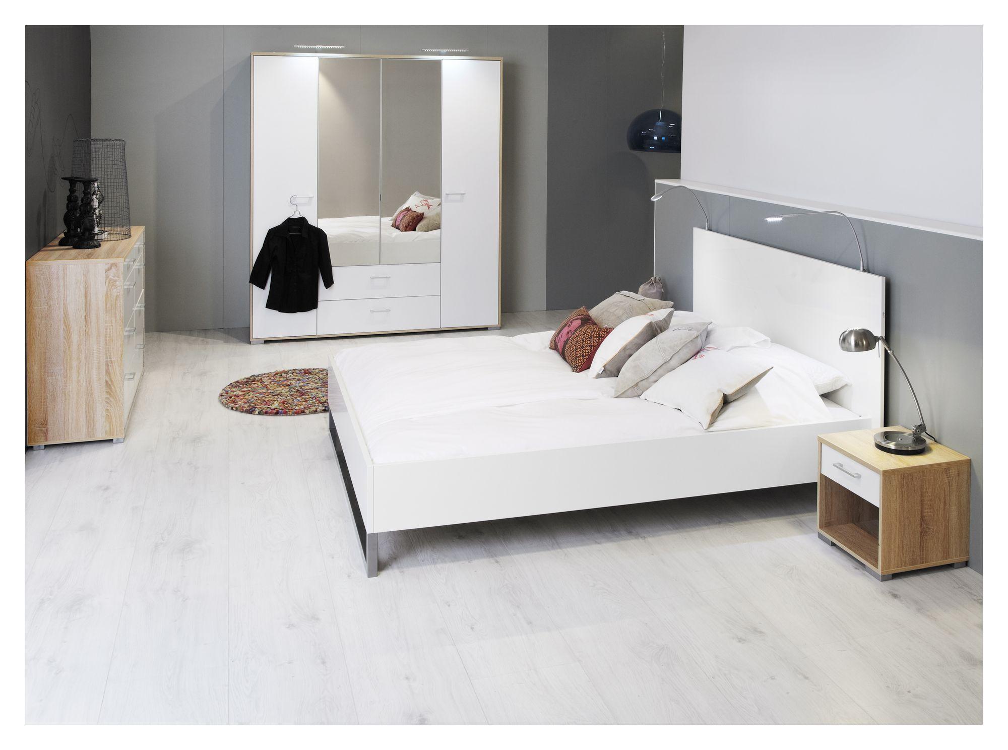 Style Sengeramme - Hvid 180x200 - Hvid seng - 180x200 cm