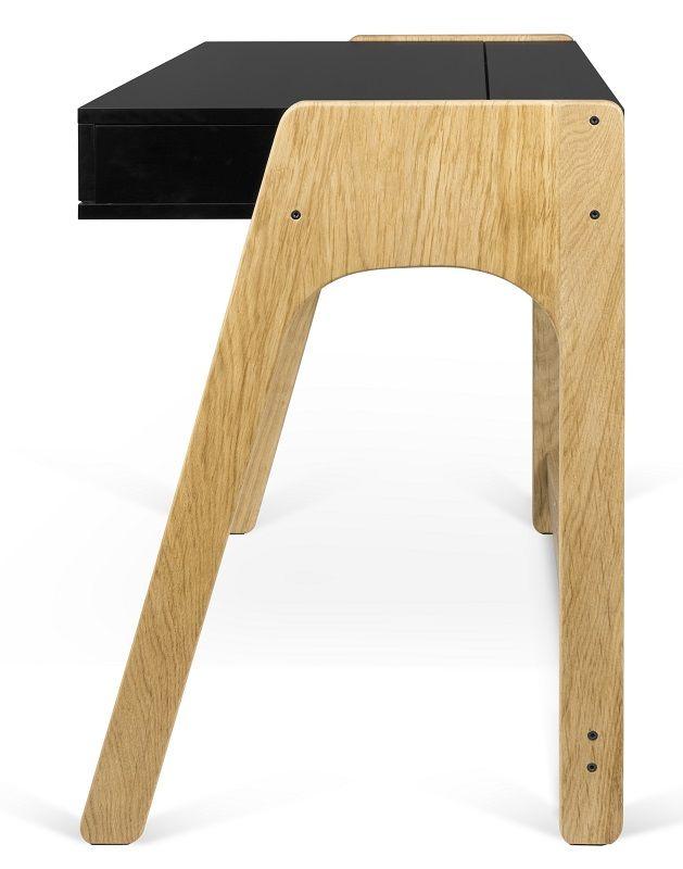 Aura Skrivebord - Sort - Sort skrivebord