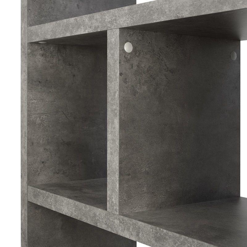Temahome Berlin Reol - Grå betonlook