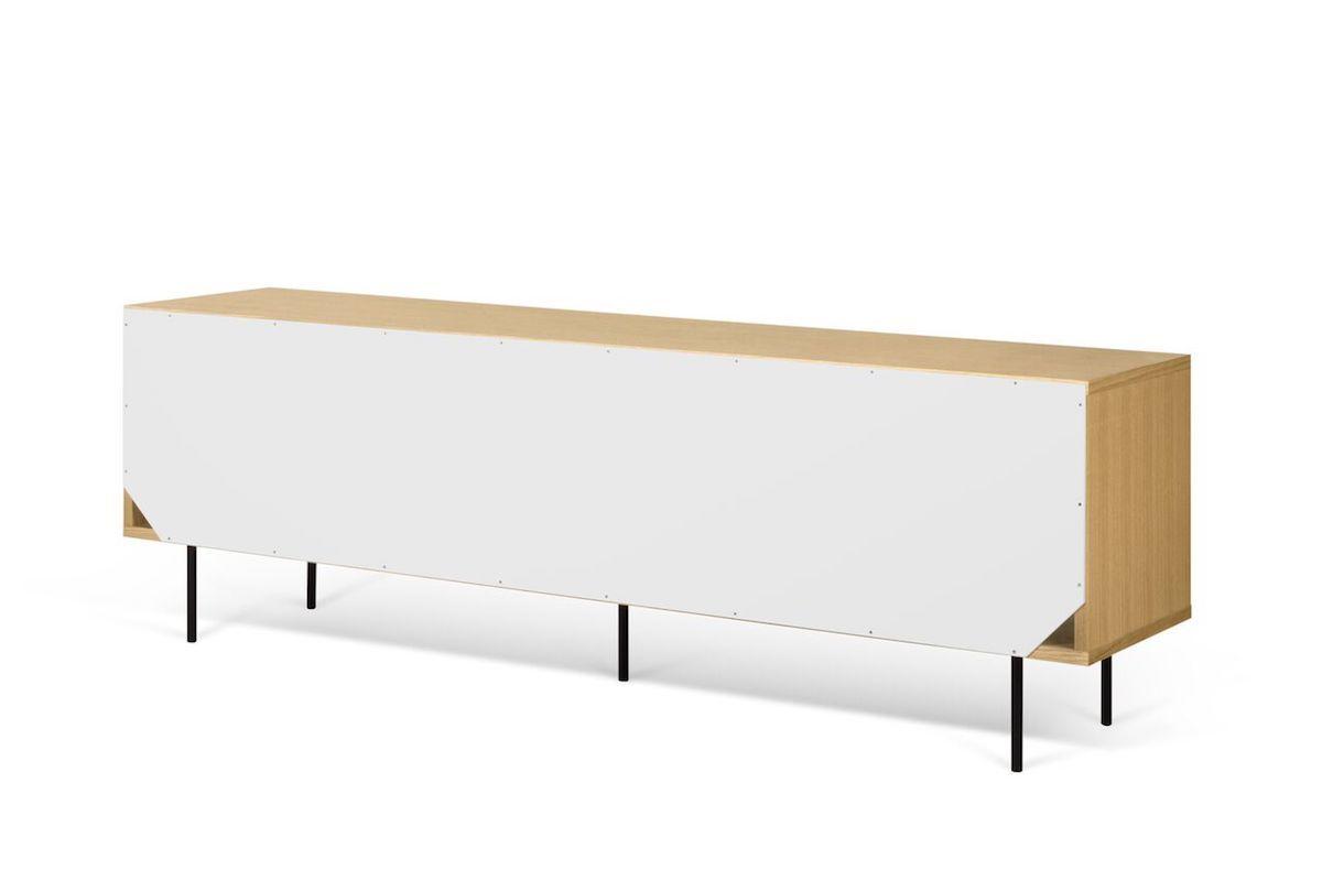 Temahome Dann Skænk - Egefinér, Mat hvid, B201