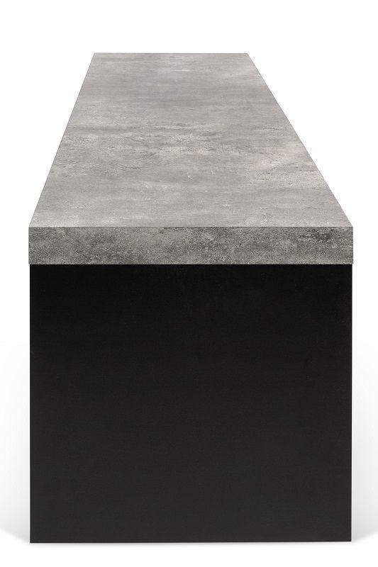 Temahome - Detroit Bænk - Grå - Bænk i betonlook