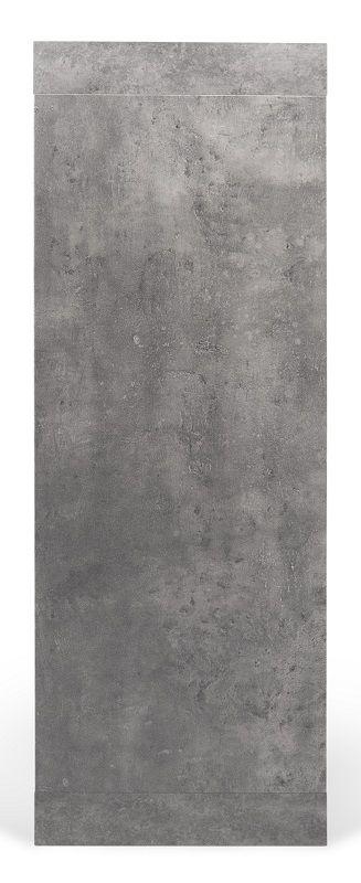 Temahome Detroit Højskænk - Grå beton-look B109