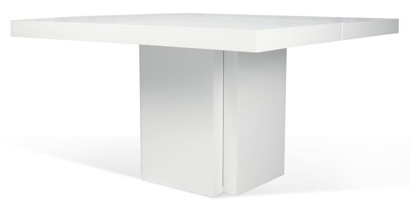 Temahome Dusk Spisebord - Hvid højglans 150x150