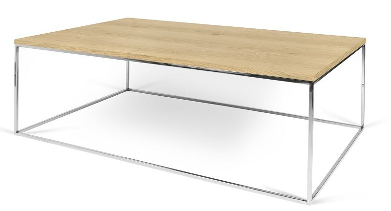 Temahome - Gleam Sofabord - Lys træ 120 cm - Sofabord i honeycomb panel
