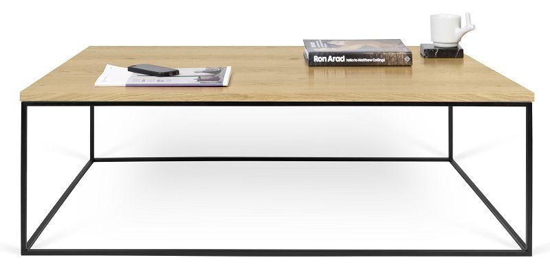 Gleam Sofabord - Lys træ - 120 cm - Sofabord i honeycomb panel
