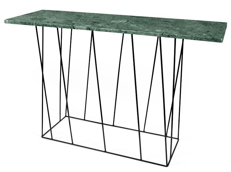 Helix Konsolbord - Grøn - Konsolbord i grøn marmor