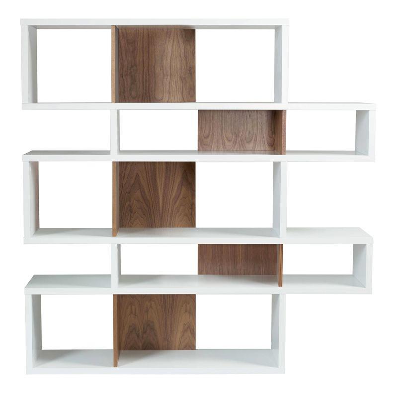 temahome london reol hvid valn d h 160 gratis fragt. Black Bedroom Furniture Sets. Home Design Ideas