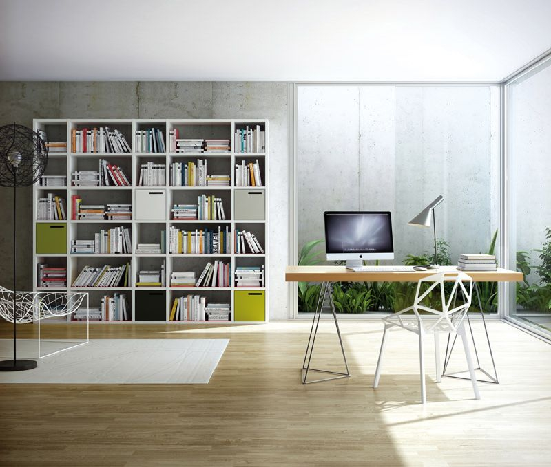 Temahome - Multi Skrivebord - Egefinér 160 cm - Skrivebord i egetræsfinér