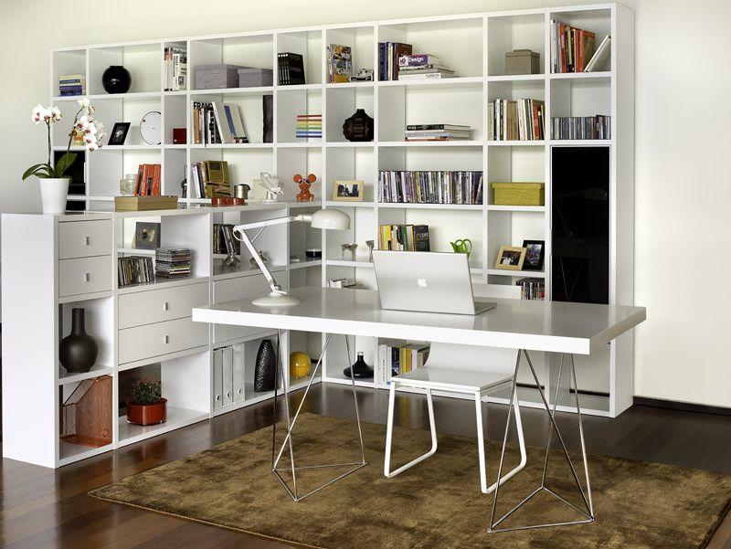 Temahome Multi Skrivebord - Hvid 160 cm - Skrivebord i nåtidig uttrykk