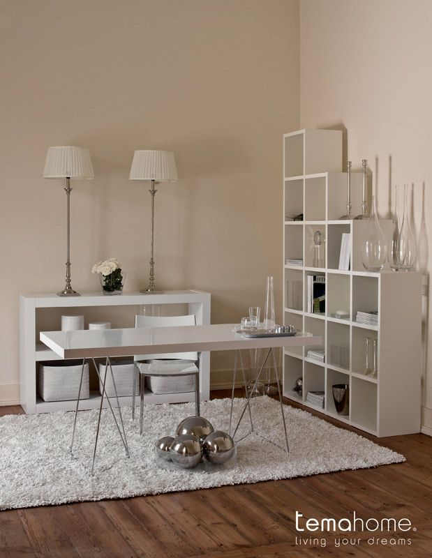 Multi Skrivebord - Hvid - Skrivebord i nutidigt look