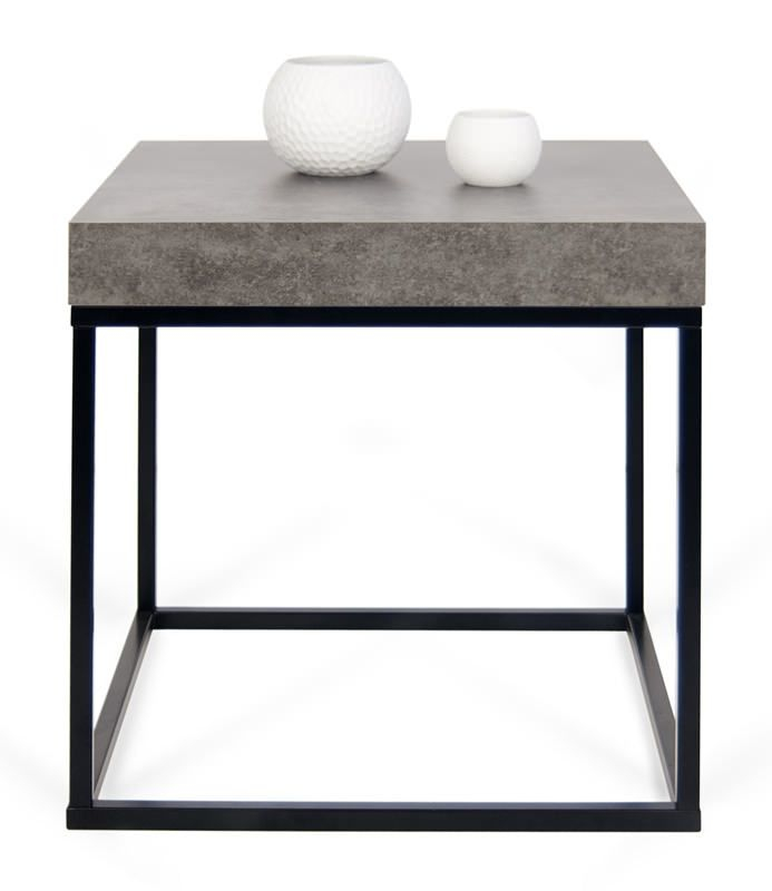 Petra Sofabord - Stilrent sofabord i beton-look