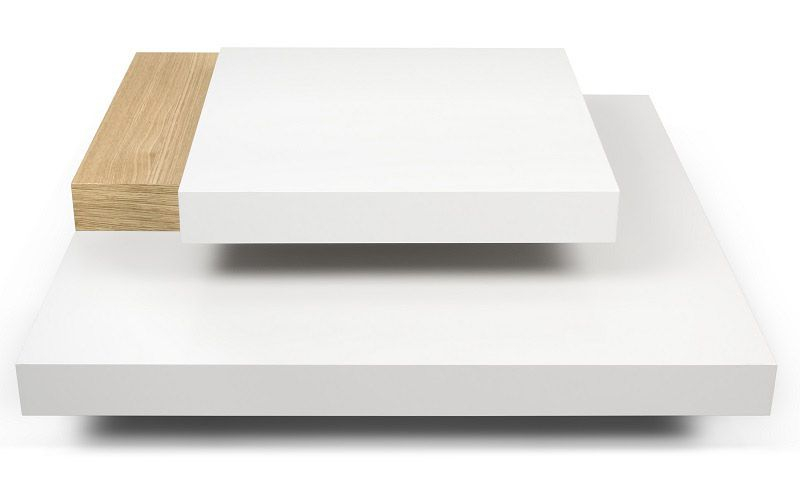 Temahome Slate Sofabord - Hvid