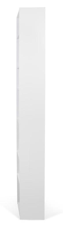 Valsa Reol - Hvid - Smal bogreol i hvid