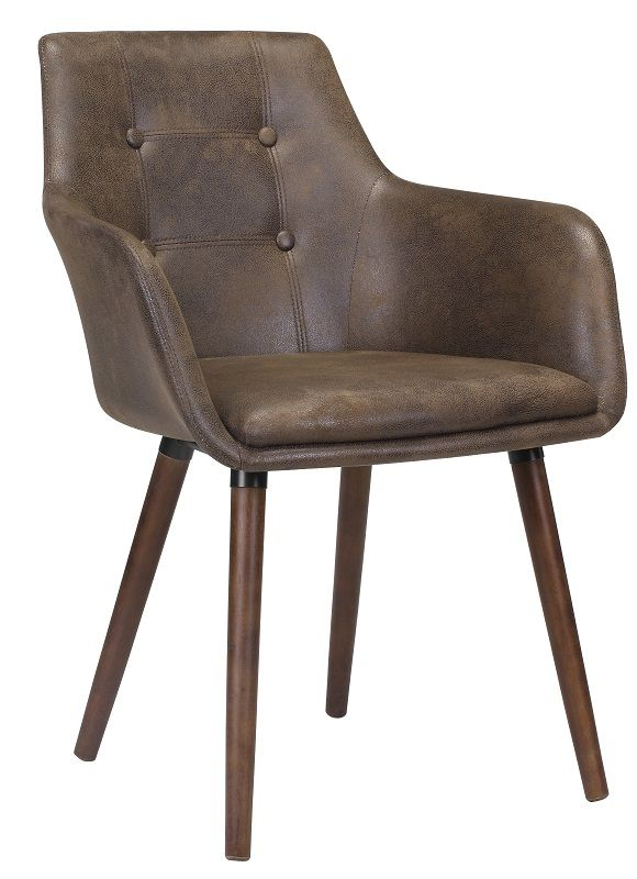 Urban Spisebordsstol - Brun - Mørkebrun Spisebordsstol